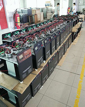 our solar power inverter factory