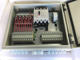 photovoltaic array combiner box 10 input for solar system