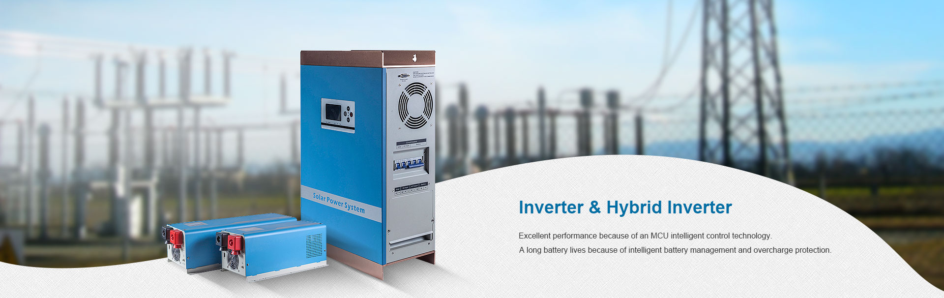 solar power Inverter built-in solar controller