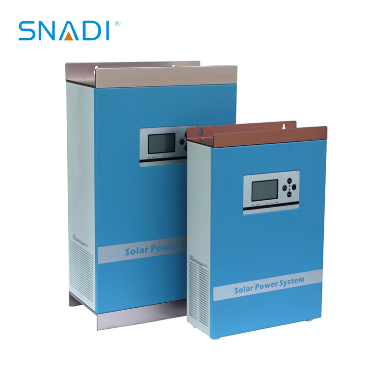 Pure sine wave inverter with charge