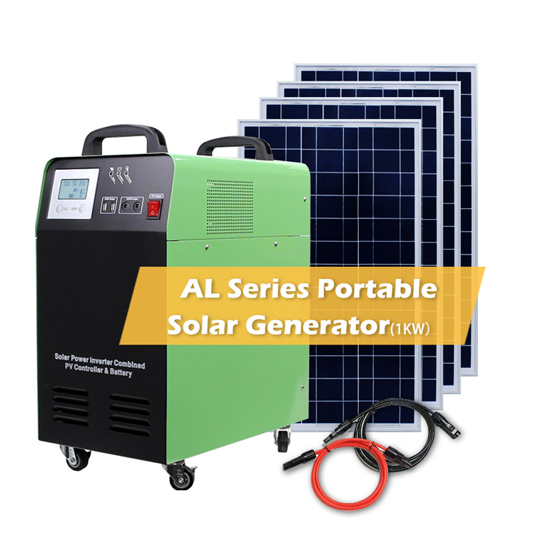 Off Grid Portable Solar Power System home 1000w/1500w