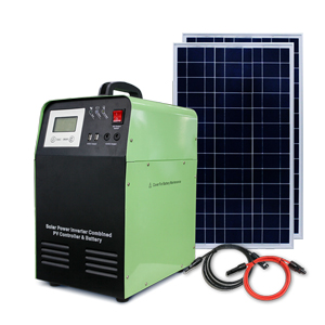 How should the solar inverter system be maintained?