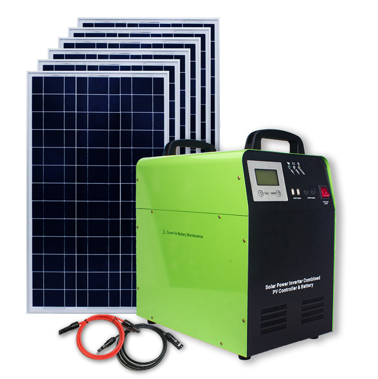 1KW 24V Portable Solar Power System